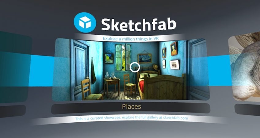 AR and VR Models in Sketchfab Store