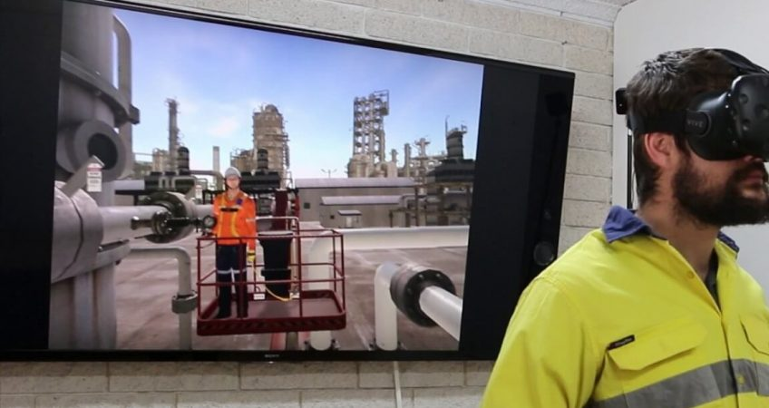 vr training for oil and gas