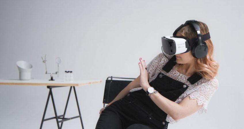VR phobia treatment